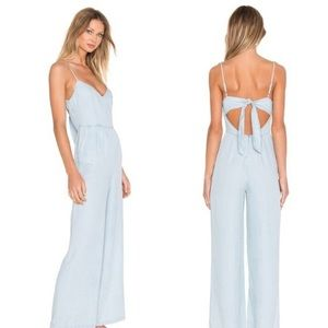 bb dakota elliot chambray jumpsuit